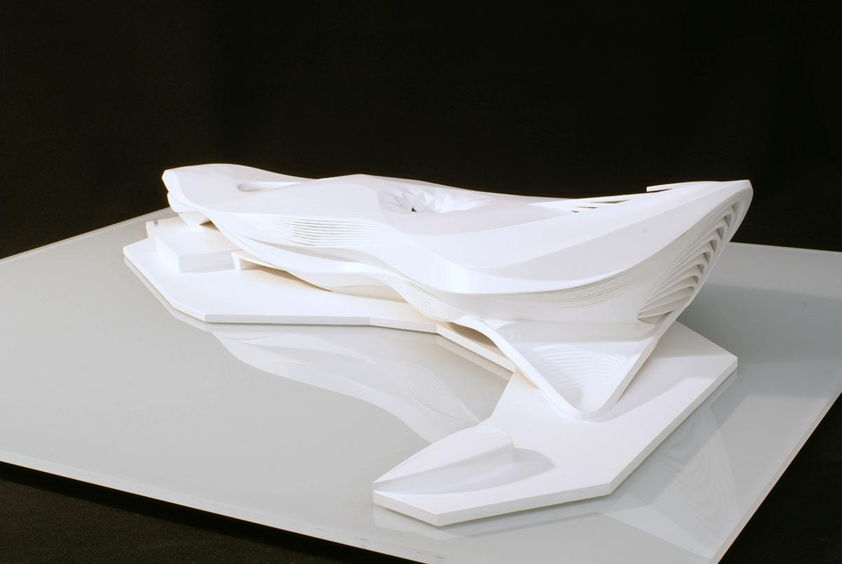 Designstudie M 1:500, Zaha Hadid
