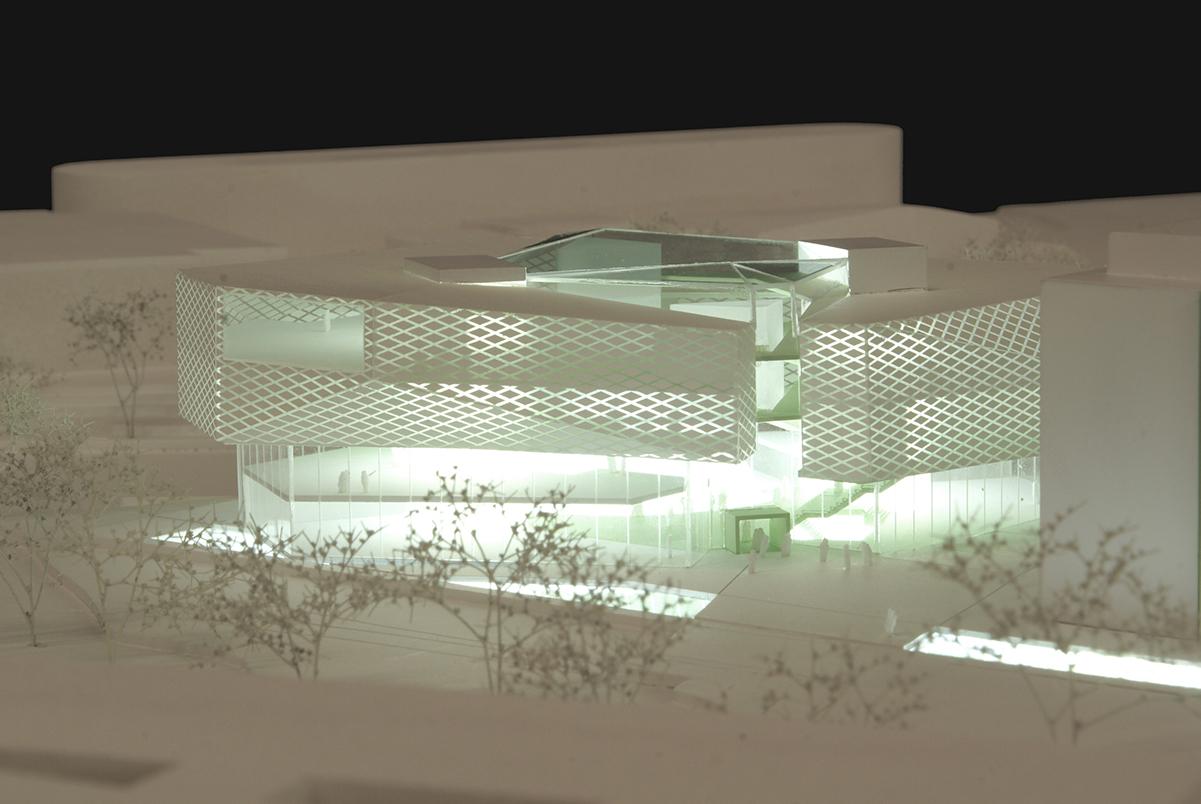 Architekturwettbewerb M 1:500