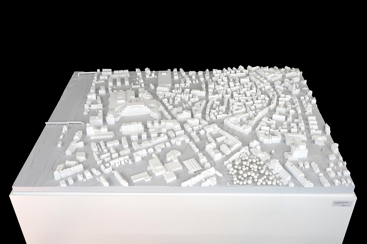 Stadtmodell Sindelfingen, M 1:500
