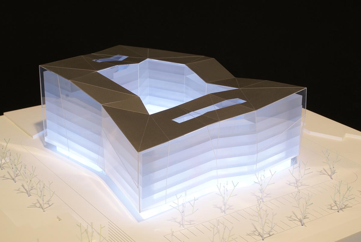 Architekturwettbewerb M 1:500, Boris Podrecca