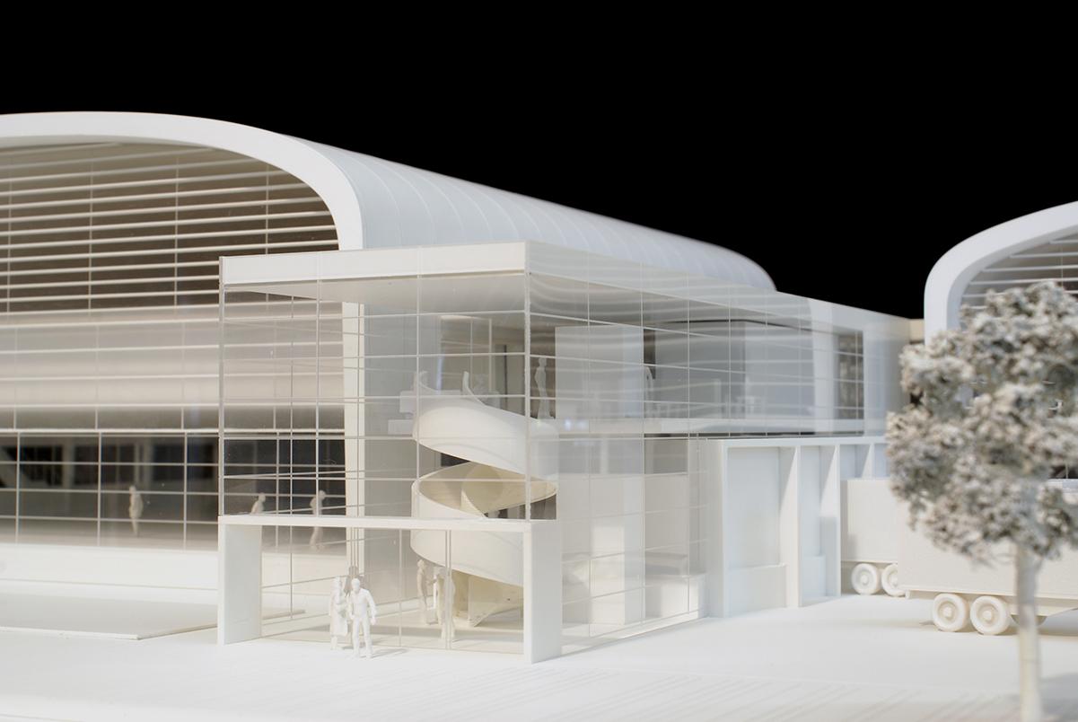Architekturmodell M 1:100