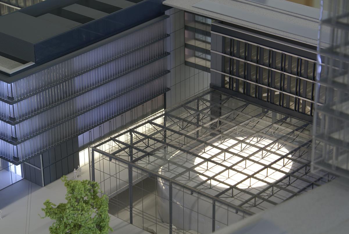 Europäisches Parlament Luxemburg M 1:100, Heinle Wischer und Partner