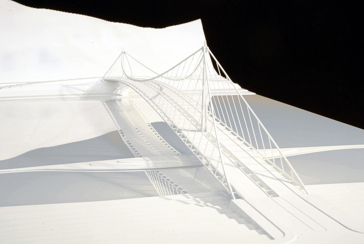 Architekturwettbewerb M 1:100 Jan Knippers Ingenieure