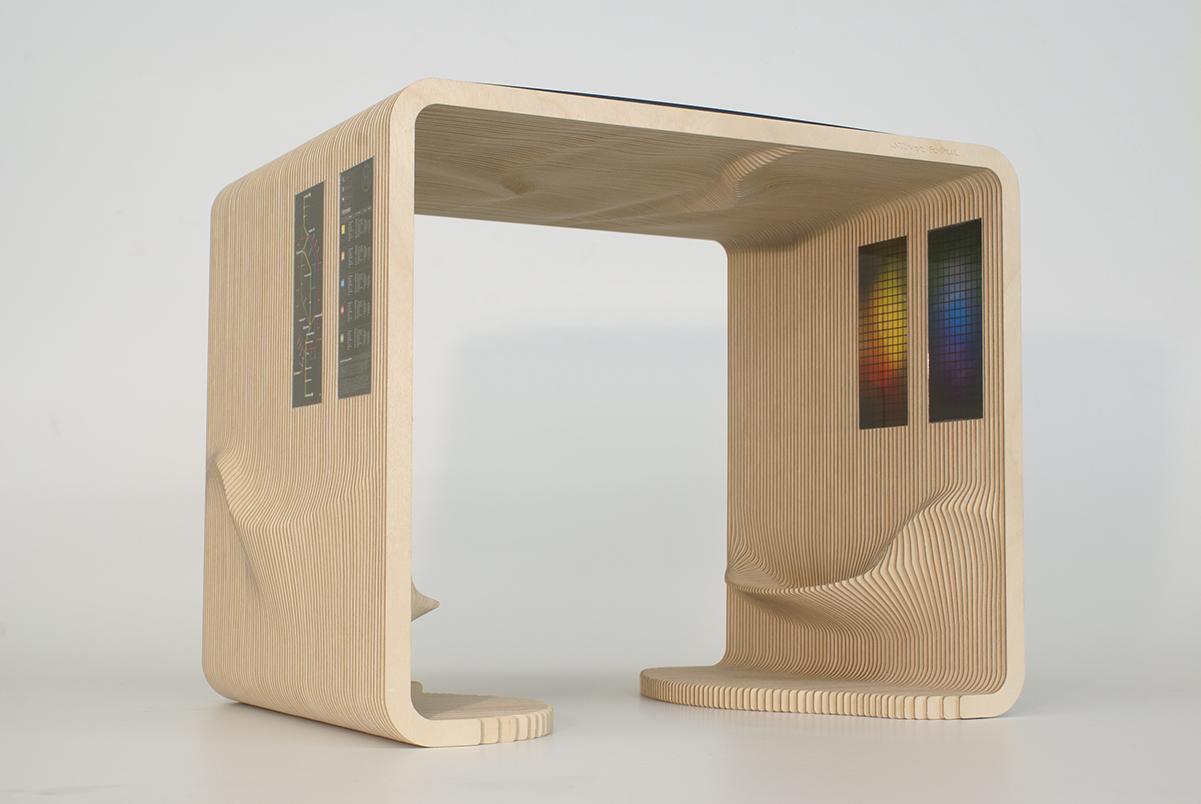 Designstudie Bushaltestelle, Werner Sobek AG