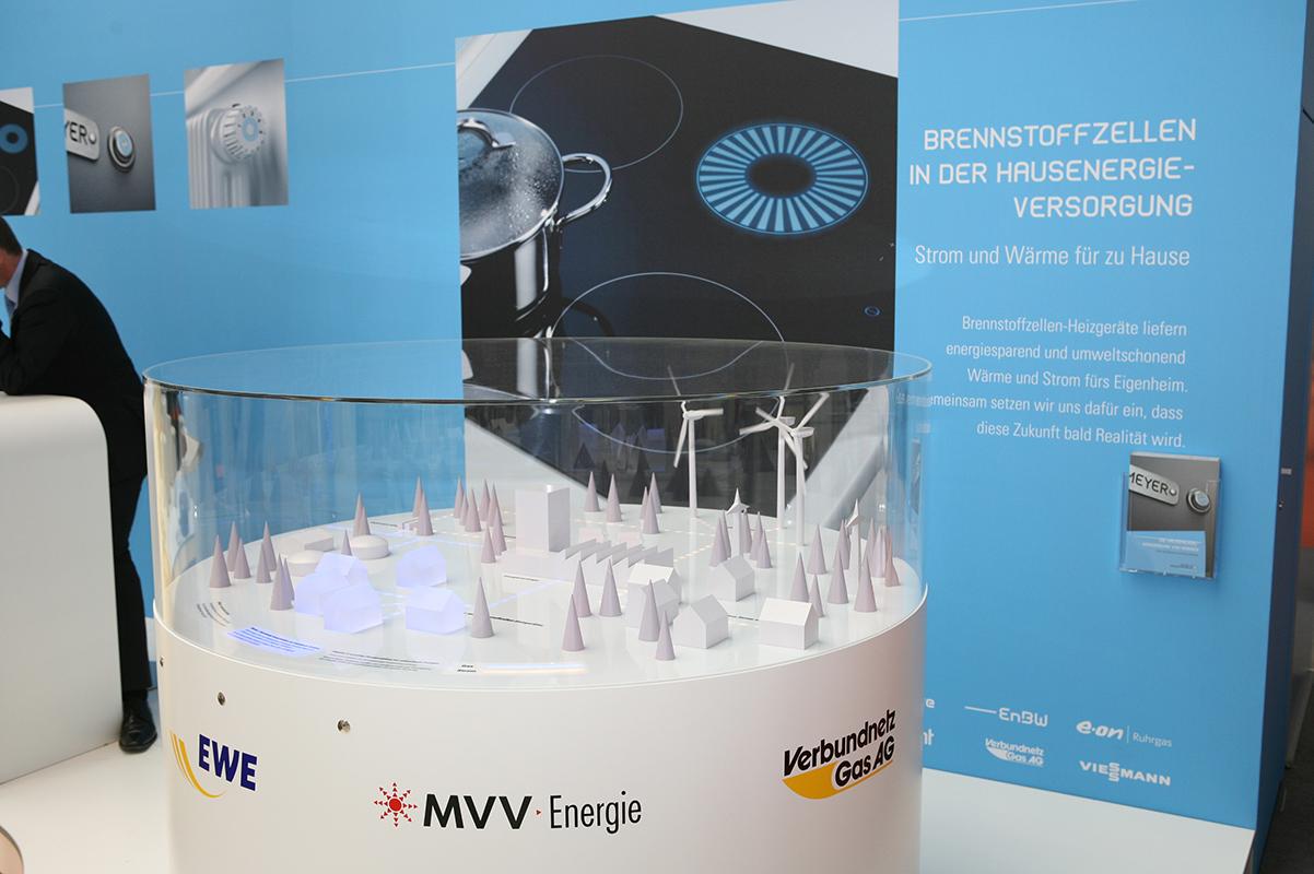 Interaktives Messemodell, EWE