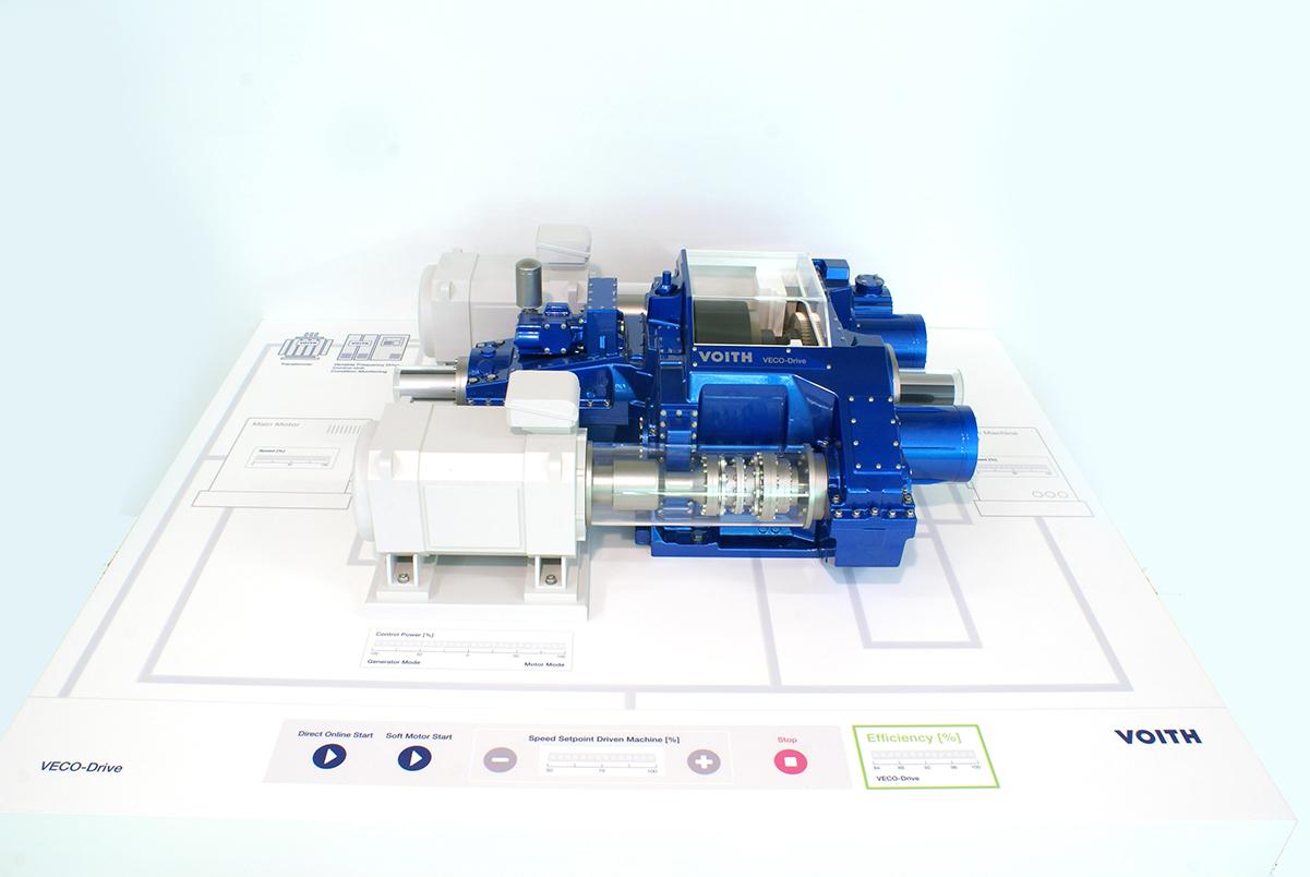 Interaktives Messemodell VECO-Drive, Voith GmbH