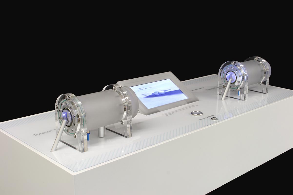Interaktives Messemodell, Trelleborg Sealing Solutions GmbH