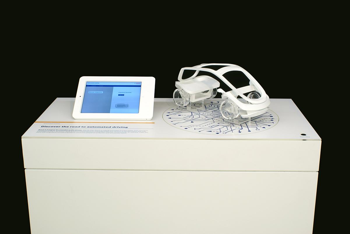 Interaktives Messemodell, Robert Bosch GmbH