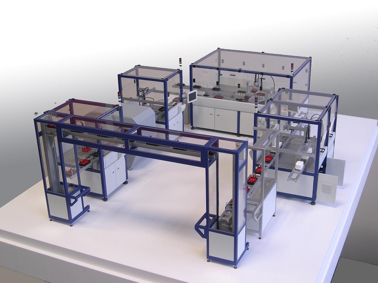 Produktionsanlage, Schiller GmbH