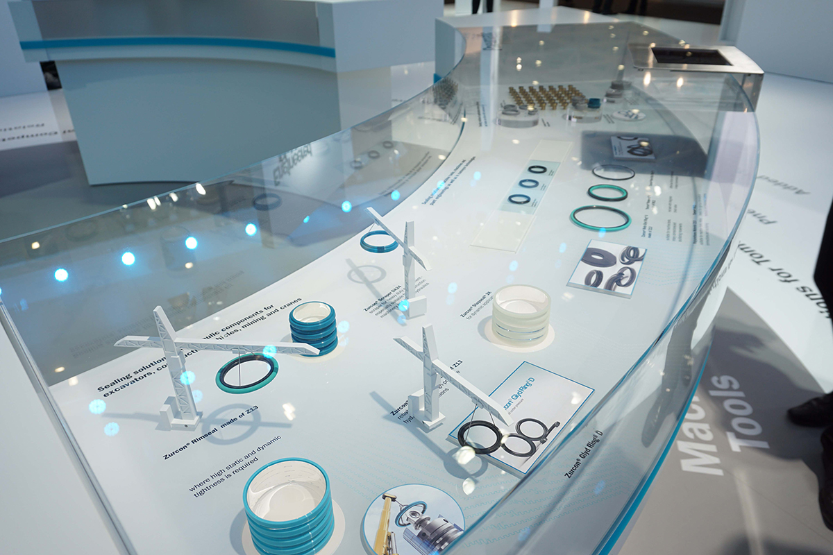 Messemodelle, Trelleborg Sealing Solutions GmbH