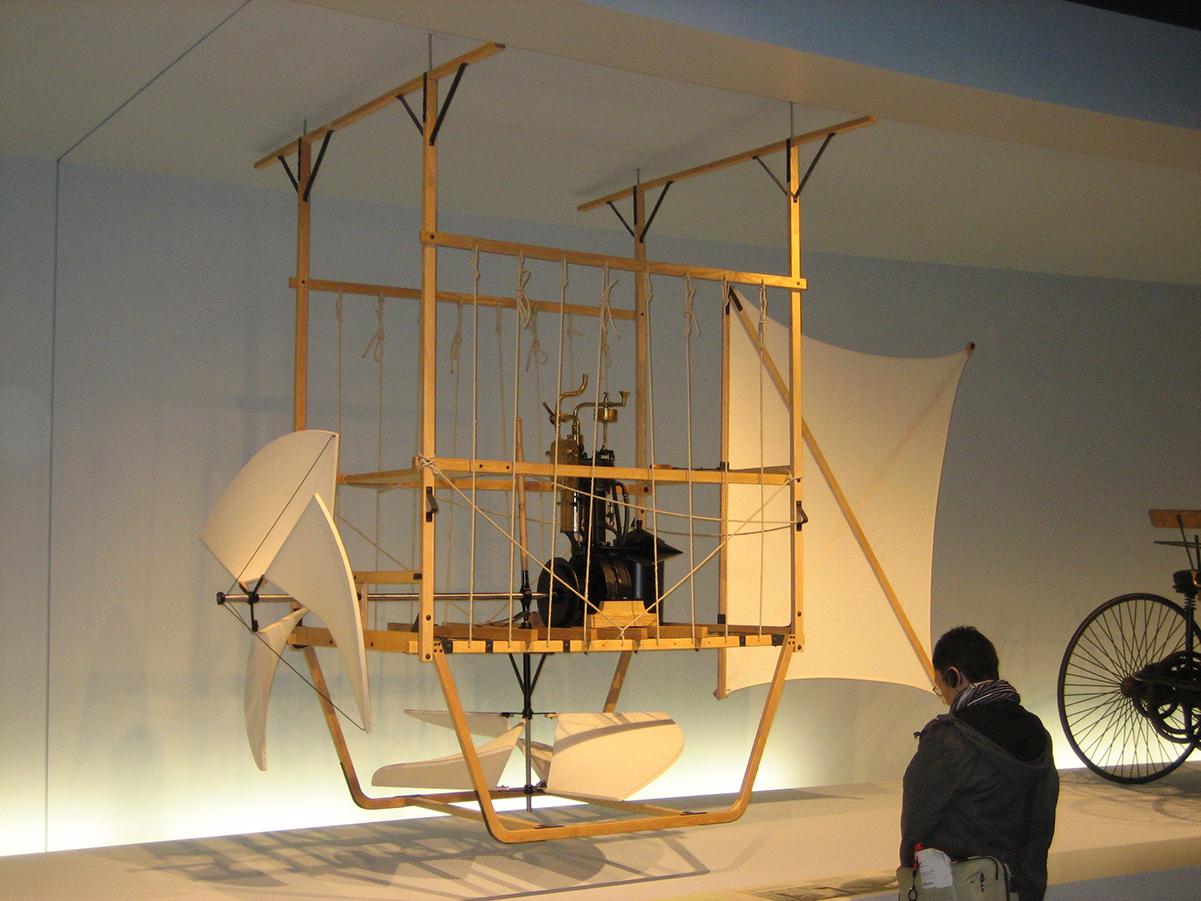 Luftschiffgondel Wölfert M 1:1, Mercedes-Benz Museum