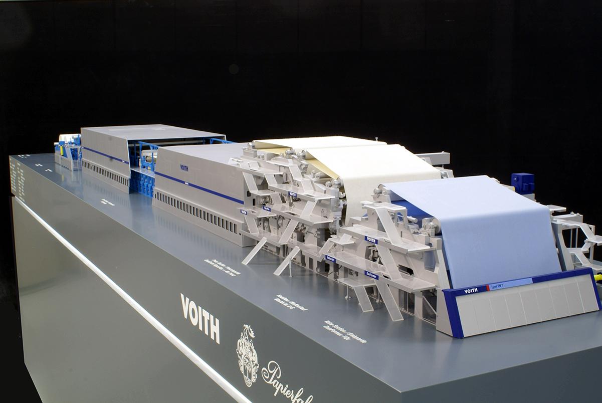 Papiermaschine, Voith GmbH