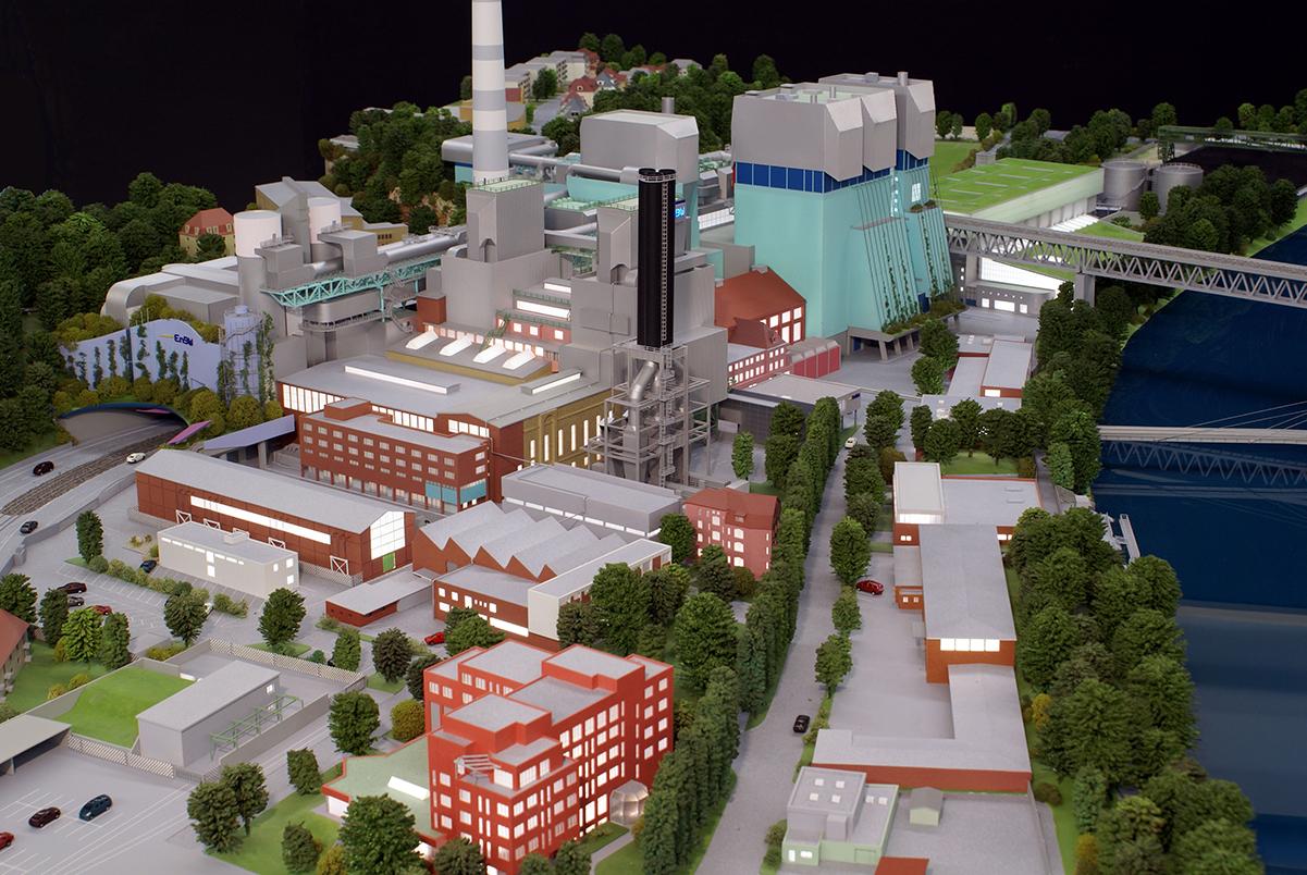 Kraftwerk Münster M 1:330, EnBW AG
