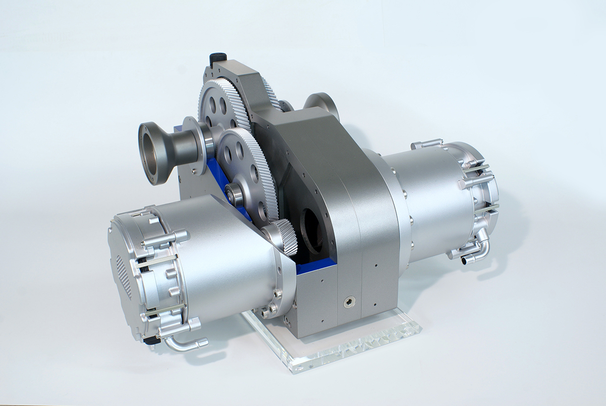Prototyp Getriebe, SEG Automotive