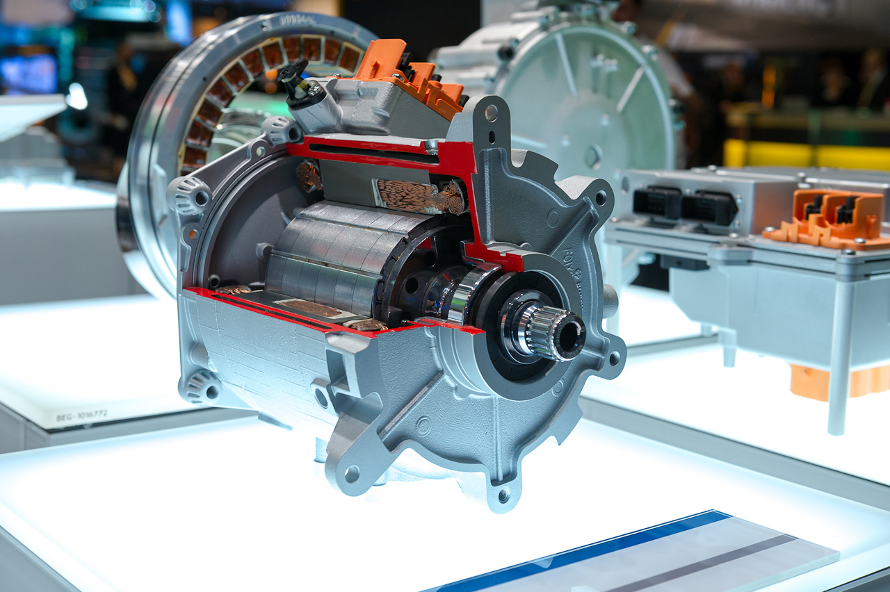 Schnittmodell Elektromotor, Robert Bosch GmbH