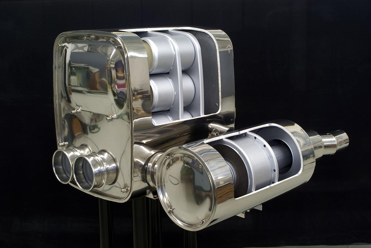 Schnittmodell – Partikelfilter Nutzfahrzeuge, RTA