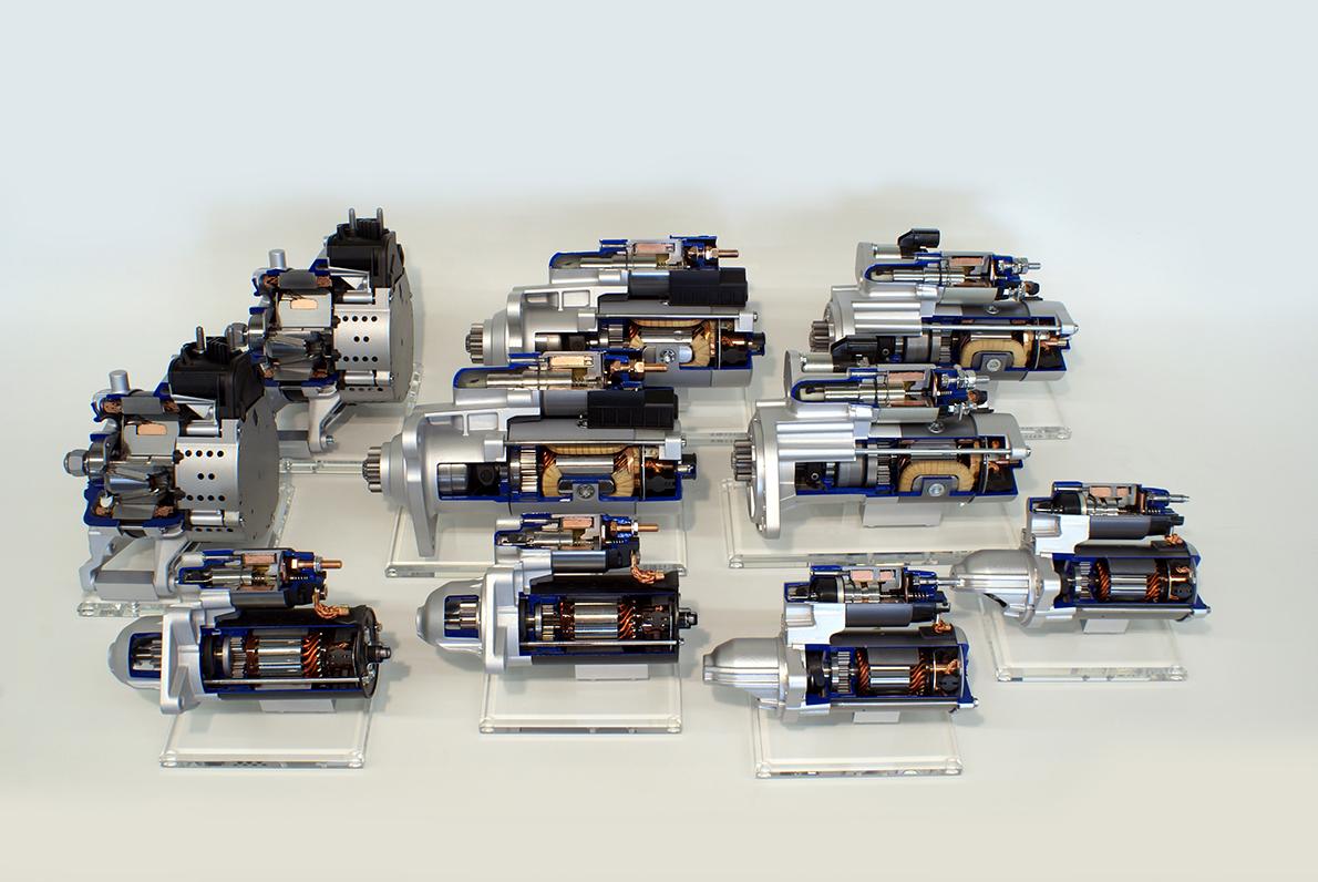 Schnittmodelle, SEG Automotive