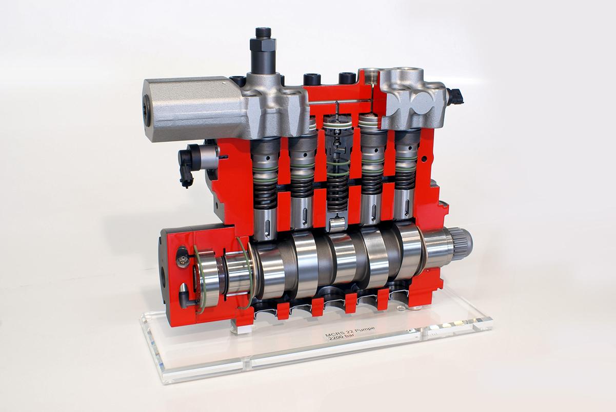Schnittmodell – Hochdruckeinspritzpumpe, Robert Bosch GmbH
