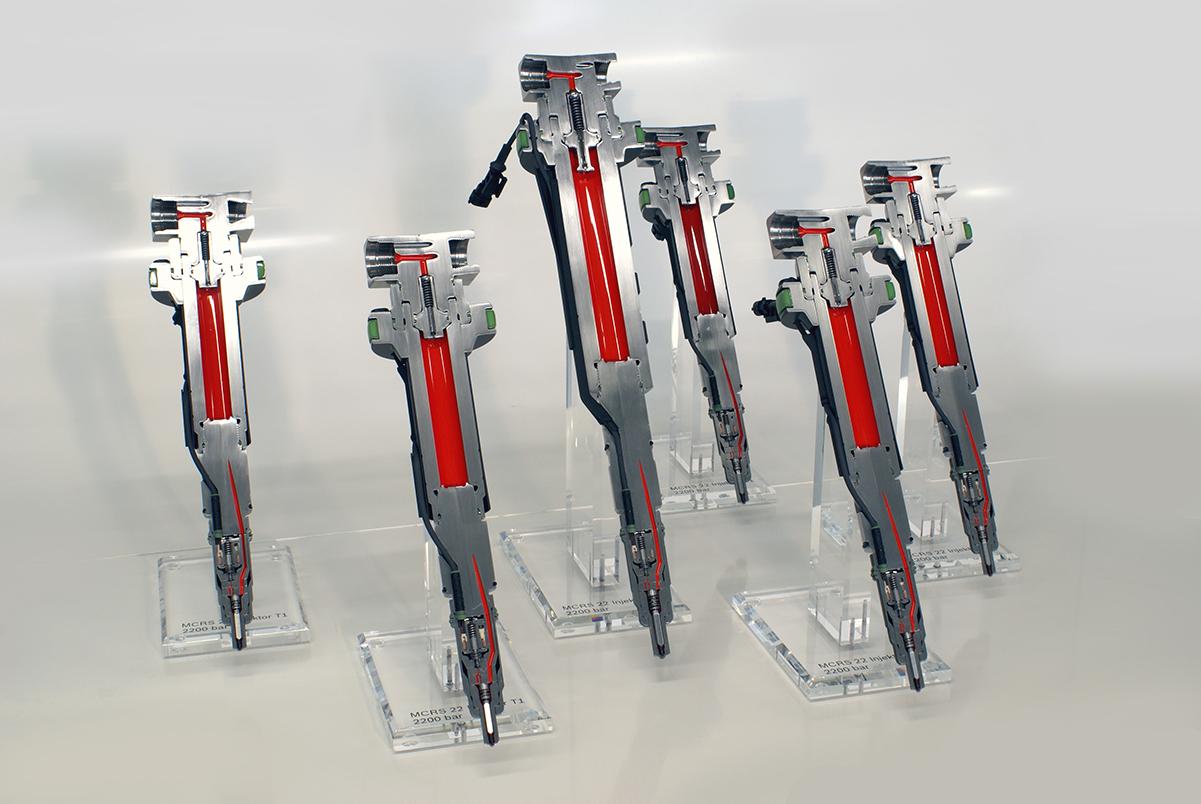 Schnittmodelle Injektoaren; Robert Bosch GmbH